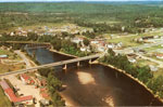 Aerial View of Iron Bridge, Circa 1960