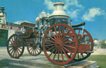 """Old Faithful"" 1907 Pumper Wagon Postcard, Blind River, Circa 1960"