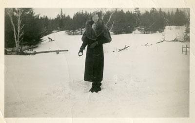 Stella Tulloch (Alhusen), Iron Bridge, Circa 1940
