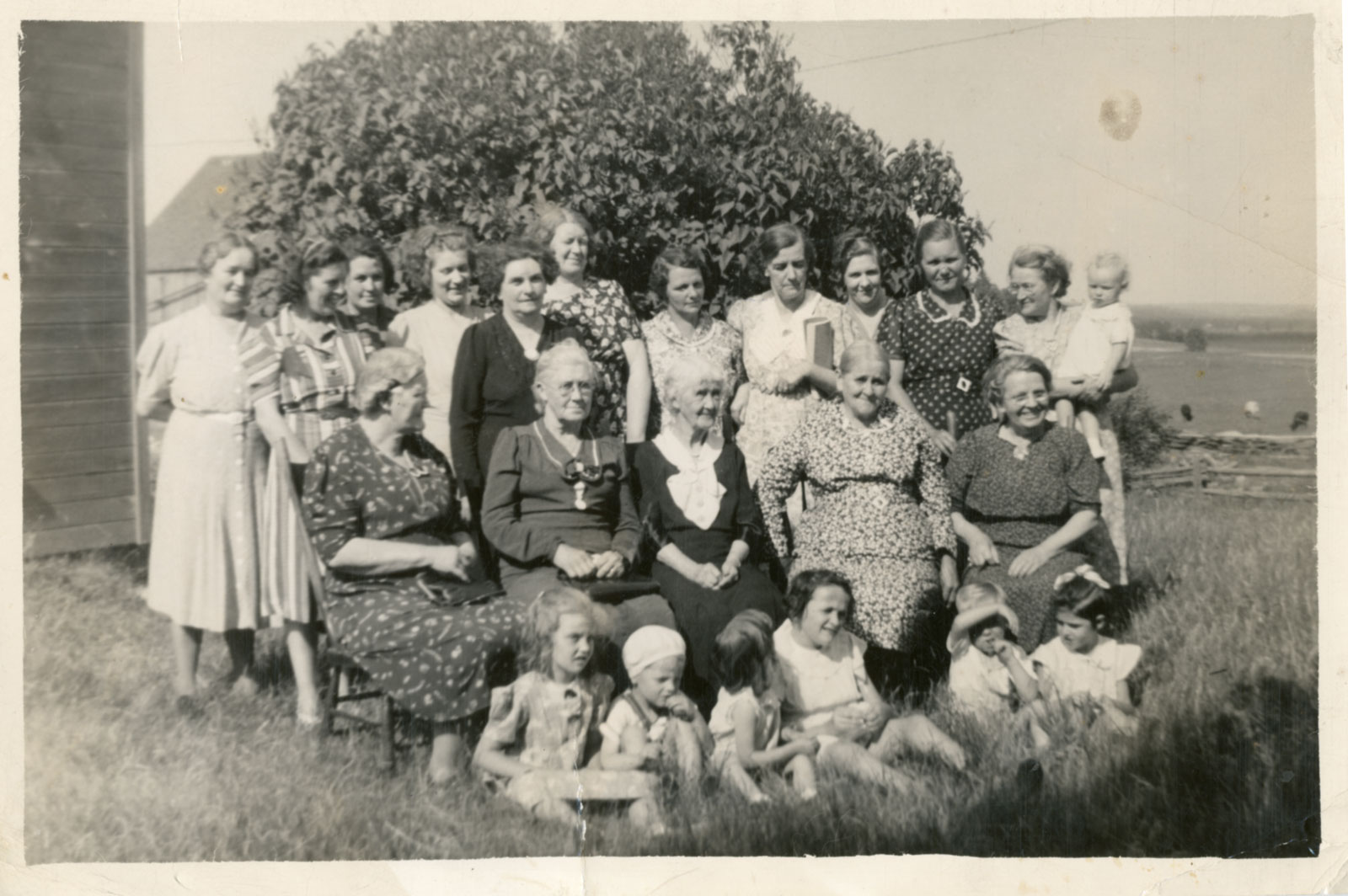 Women's Church Group, Iron Bridge, Circa 1940