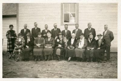 Iron Bridge United Church Anniversary, 1939