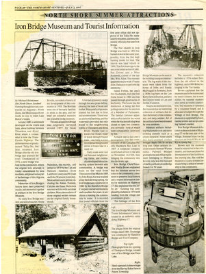 North Shore Summer Attractions, 1997
