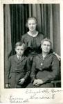 Elizabeth Rowan, Mrs. Wm Beharriell, Burns Beharriell, Circa 1925