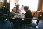Women Institute Ladies Quilting, Circa 1995