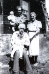 Robert Dunn and Family, Circa 1920