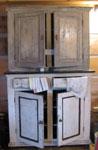 Wood Kitchen Cupboards, Circa 1930