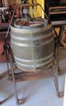 Wooden Barrel Style Butter Churn, Circa 1900