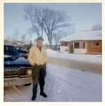 Joe Degagne Outside, 1968