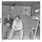 Alf Bilton and George Saarela, Iron Bridge, 1960