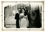 Albert, Victor, Harvey Tulloch, and Mary Tulloch, Circa 1931
