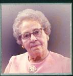 Portrait Mrs. Alice Barber, Iron Bridge, 1981