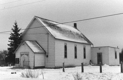 United Church, Iron Bridge, 1977