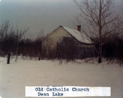 Old Catholic Church, Dean Lake, 1976