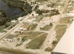 Aerial View, Iron Bridge, Circa 1980