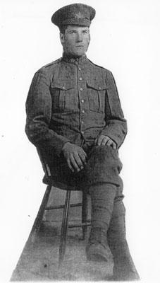 Richard Alexander Munroe in Uniform, Circa 1940