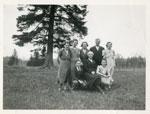 Nicholson Family, Iron Bridge, 1934