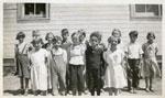 School children, Iron Bridge, circa 1936
