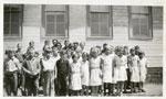 Iron Bridge Students, Circa 1936