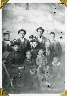 William Allen Family, Circa 1895