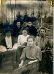 Gramma Allen And Kitten, Group Photo Circa 1905