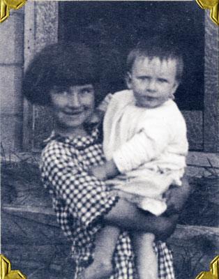 Elsie and Dwight Allen, 1925