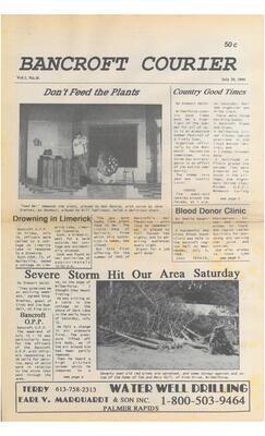 The Bancroft Courier Vol 1 No 14
