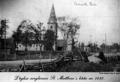 Église anglicane St. Matthew's, à Grenville, Qc. - St. Matthew's anglican church, in Grenville, Qc.