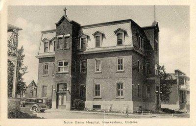 Hôpital Notre-Dame. - Notre-Dame Hospital.