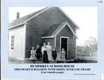 Humphrey Schoolhouse with siding