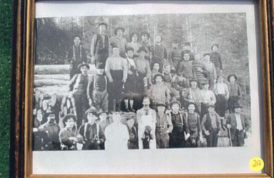 Logging Camp Photo