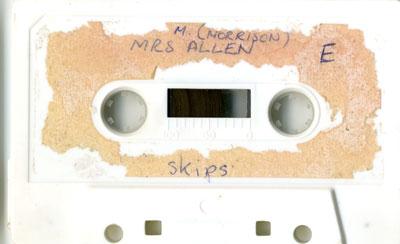Mrs. M. Allen (Morrison)