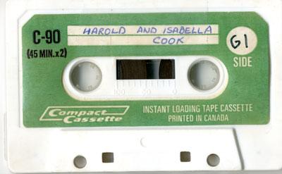 Harold and Isabella Cook