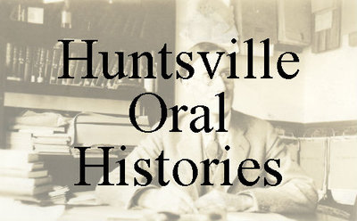 Roberta Green interviews long time resident, Jean Reynolds as part of the Huntsville Oral Histories.