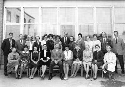 Huntsville Public School Staff 1966-1967, Huntsville, Ontario.