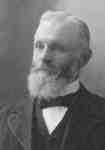 Jacob H. Johnson, who established the Muskoka Foundry and Machine Company at the foot of Caroline Street, Huntsville, Ontario 1905.
