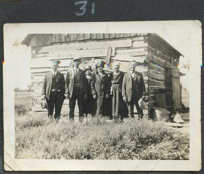 Reuben, Grandpa, Gladys, Grannie, Willie
