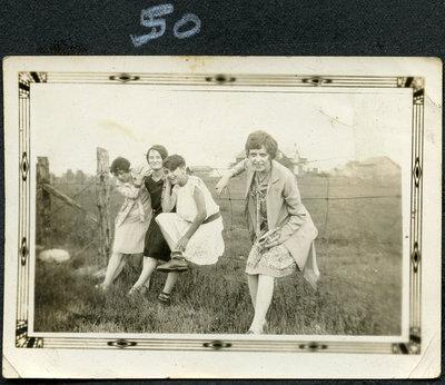 Selma, Eva, Marjorie Holly, Helen Holly