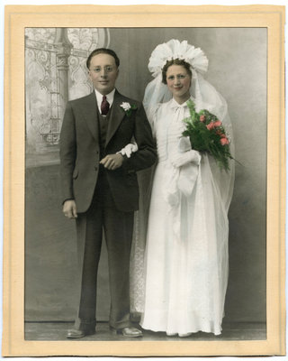 Clayton and Jean John – June 1, 1938 Wedding Day