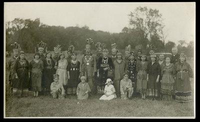 Mohawk Pagent in Tweed, Ontario