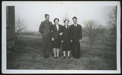 Garfield Maracle, Jean John, Bertha Maracle, Harold Maracle
