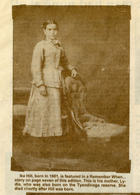 Lydia (William Isaac Hill's Mother)