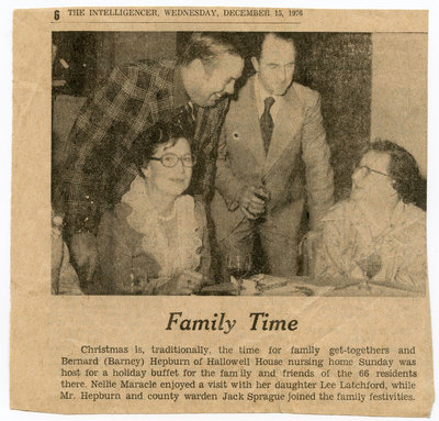 """""""Family Time"""" Clipping"""