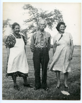Two Women and a Man