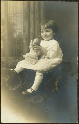 Young Girl with a Doll