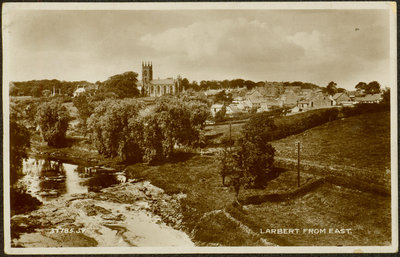Postcard from Larbert Scotland