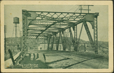 Postcard of an Iron Bridge