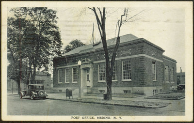 N.Y. Post Office Postcard