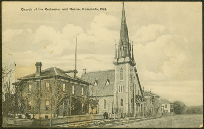 Church of the Redeemer and Manse, Deseronto, Ont.