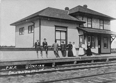 C.N.R. STATION SHANNONVILLE
