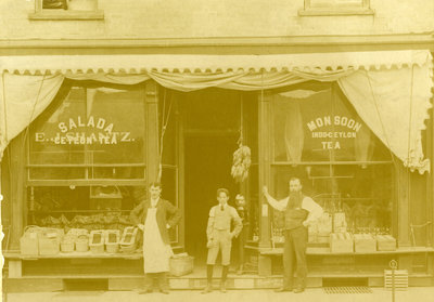 E.J. Shantz Grocery store, Frederick Street, Berlin, Ontario